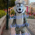 New grey wolf mascot costume fursuit  fancy dress carnival costume