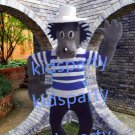 New high quality wolf mascot costume Christmas Halloween Outfit Fancy Dress Suit Free Shipping