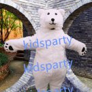 New high quality polar bear mascot costume Christmas Halloween Outfit Free Shipping