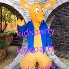New fox Kangaroo mascot costume Fancy Dress Halloween party costume Carnival Costume