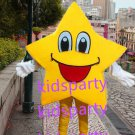 New yellow star mascot costume Fancy Dress Halloween party costume Carnival Costume