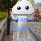 New white cloud mascot costume Fancy Dress Halloween party costume Carnival Costume