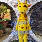 New Giraffe mascot costume Fancy Dress Halloween party costume Carnival Costume