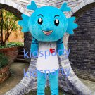 New blue dragon mascot costume Fancy Dress Halloween party costume Carnival Costume