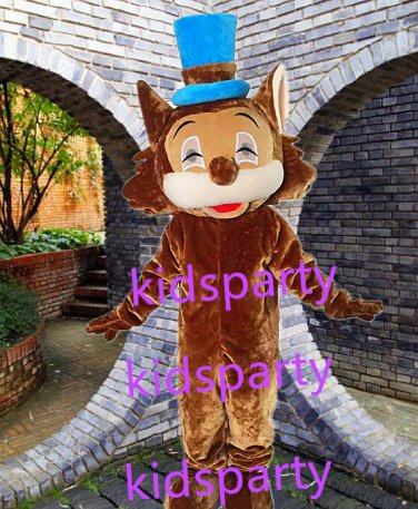 New brown cat mascot costume Fancy Dress Halloween party costume Carnival Costume