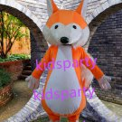 New orange fox mascot costume Fancy Dress Halloween party costume Carnival Costume