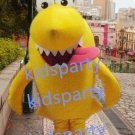 New yellow shark mascot costume Fancy Dress Halloween party costume Carnival Costume