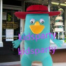 New duck Mascot Costume Mascot Parade Quality Clowns Birthdays Fancy dress party