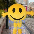 New yellow ball mascot costume big smile mascot costume party costume