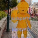New golden lancer mascot costume Fancy Dress Halloween party costume Carnival Costume