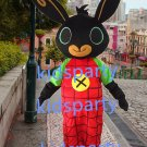 new walking disguise custom rabbit mascot costumes christmas Halloween costume