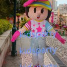 new walking disguise girl mascot costumes christmas Halloween costume