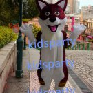 new wolf fursuit mascot costumes fox christmas Halloween costume