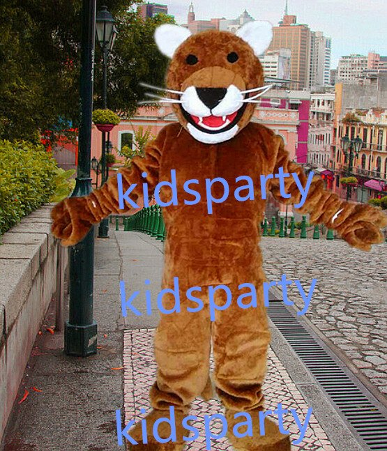 new Leopard Panther fursuit mascot costumes christmas Halloween costume