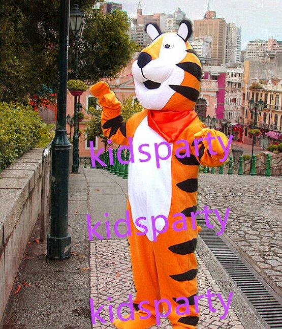 New tiger mascot costumes  fursuit christmas Halloween costume
