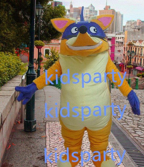 New fox mascot costumes  fursuit christmas Halloween costume