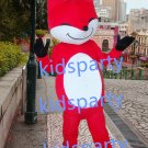 New red fox mascot costumes  fursuit christmas Halloween costume