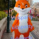 New long plush fox mascot costumes  fursuit christmas Halloween costume