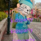 New blue Cat Mascot Costume Mascot Parade Quality Clowns Birthdays Fancy dress party