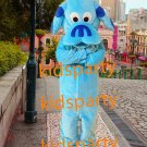 New blue dog Mascot Costume Mascot Parade Quality Clowns Birthdays Fancy dress party