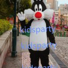 New black cat Mascot Costume Mascot Parade Quality Clowns Birthdays Fancy dress party