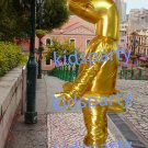 New Golden Snake Mascot Costume Mascot Parade Quality Clowns Birthdays Fancy dress party