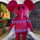 New pink Elephant Mascot Costume Mascot Parade Quality Clowns Birthdays Fancy dress party
