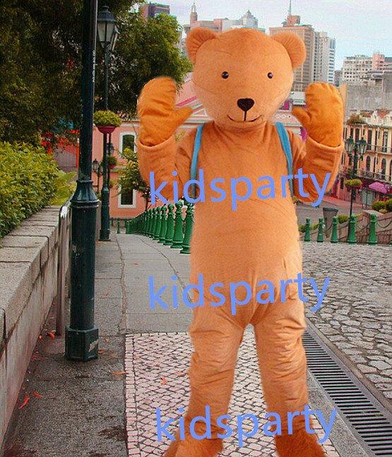 New  bear Mascot Costume Mascot Parade Quality Clowns Birthdays Fancy dress party