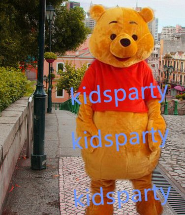 New bear Mascot Costume Mascot Parade Quality Clowns Birthdays Fancy dress party
