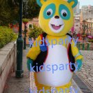 New yellow bear Mascot Costume Mascot Parade Quality Clowns Birthdays Fancy dress party