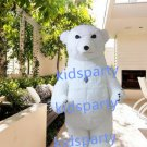 New polar bear Mascot Costume Mascot Parade Quality Clowns Birthdays Fancy dress party