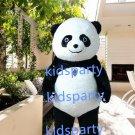 New panda bear Mascot Costume Mascot Parade Quality Clowns Birthdays Fancy dress party