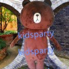 New coffee bear Mascot Costume Mascot Parade Quality Clowns Birthdays Fancy dress party