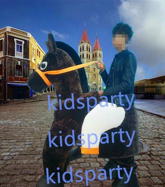New 4 legs donkey Mascot Costume Mascot Parade Quality Clowns Birthdays Fancy dress party