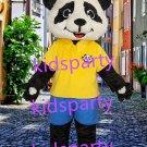 New panda Mascot Costume Mascot Parade Quality Clowns Birthdays Fancy dress party