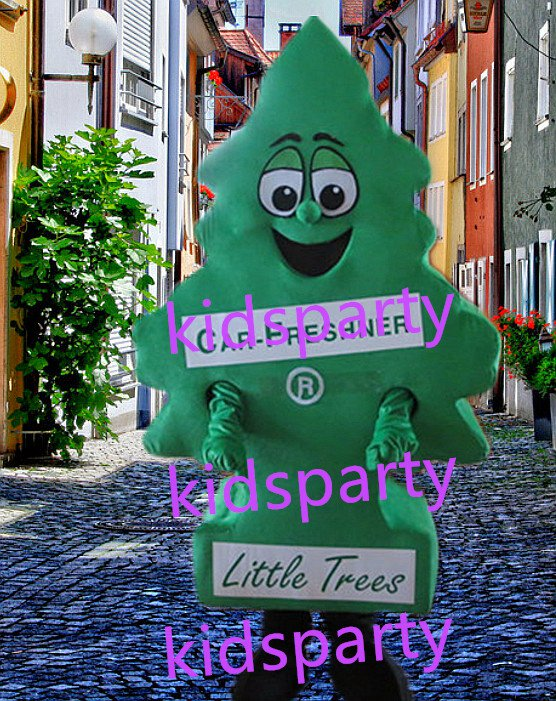 New tree Mascot Costume Mascot Parade Quality Clowns Birthdays Fancy dress party