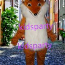 New fox Mascot Costume Mascot Parade Quality Clowns Birthdays Fancy dress party