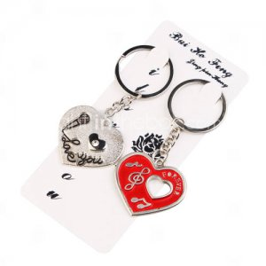 Cute Heart-shape Keychain