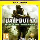 CALL OF DUTY 4 MODERN WARFARE PS3 SONY PLAYSTATION 3
