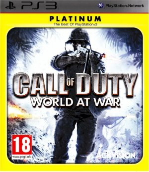 CALL OF DUTY WORLD AT WAR PS3 SONY PLAYSTATION 3