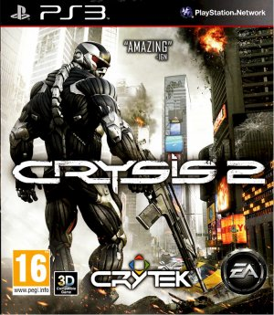CRYSIS 2 PS3 SONY PLAYSTATION 3