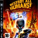 DESTROY ALL HUMANS PATH OF THE FURON PS3 SONY PLAYSTATION 3
