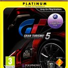 GRAN TURISMO 5 PS3 SONY PLAYSTATION 3