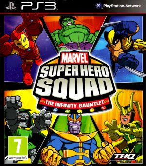 MARVEL SUPER HERO SQUAD INFINITY PS3 SONY PLAYSTATION 3