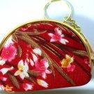 TA1960 Thai design otop zipper coin purse bag gold keychain