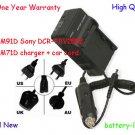 Battery Charger for NP-QM91D Sony DCR-TRV285E NP-QM71D