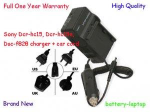 Np-fm50 Charger For Sony Dcr-hc15, Dcr-hc15e, Dsc-f828