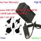 Battery Charger Panasonic DMC-GF3 DMC-GF3K DMC-GF3R DMC-GF3P DMC-GF3T DMC-S6K