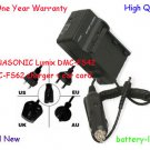 Battery Charger for PANASONIC Lumix DMC-FS42 DMC-FS62