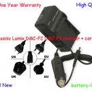 Battery Charger+Cord for CGA-S009 CGA-S009E Panasonic Lumix DMC-F2 DMC-F3 Camera